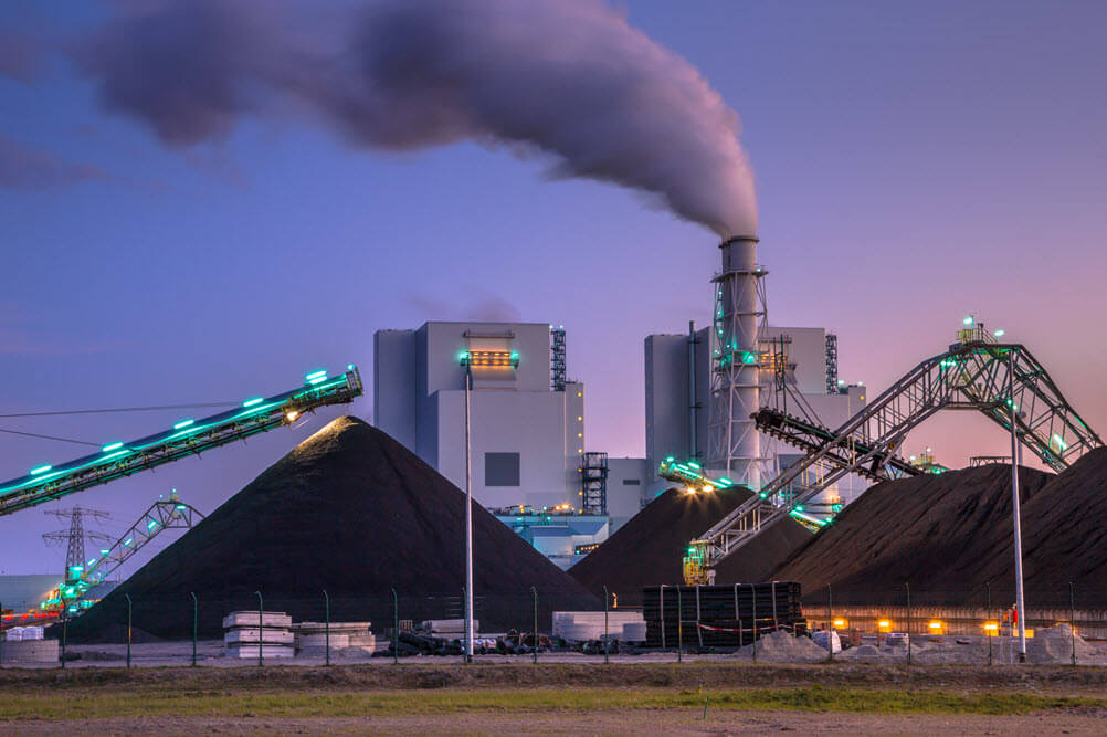 Management of Coal Combustion Products at a Coal-Fired Power Plant