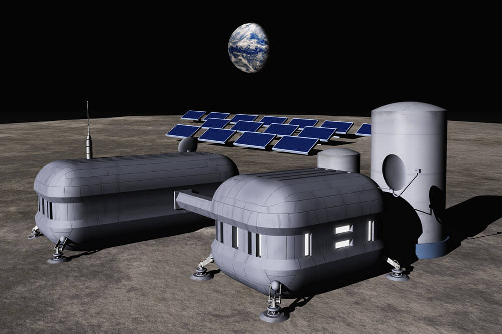 Probabilistic Risk Assessment of a Lunar Base Station