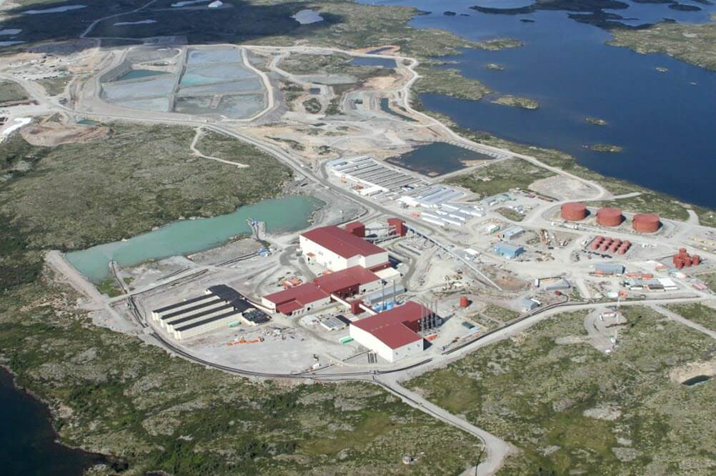 Environmental Assessment for a Diamond Mine Project